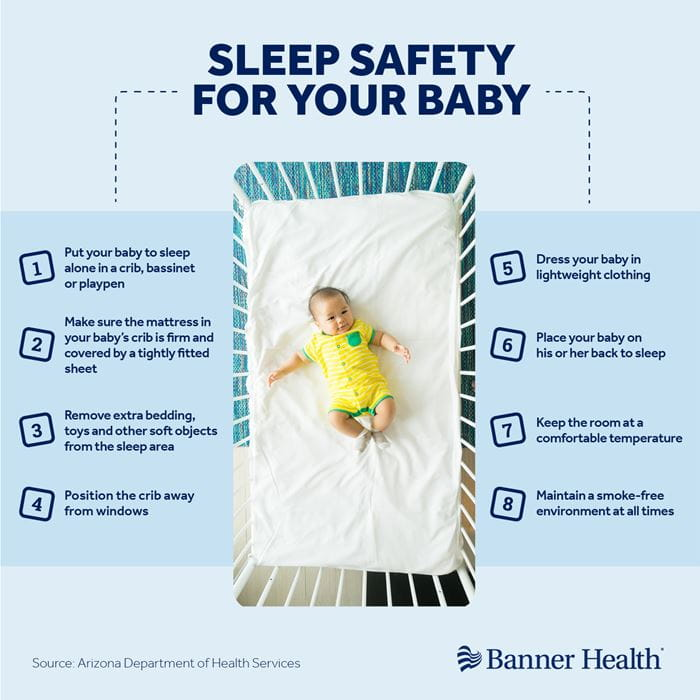 BHS0269 Sleep Safety for Baby Instagram Graphic